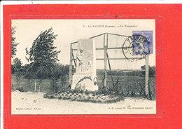 80 LA FALOISE Cpa Le Monument     7 Edit Lelong - France