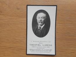D.P.-THEOFIEL LABENS°LICHTERVELDE 15-10-1856+ALDAAR 24-11-1920 - Religion & Esotérisme