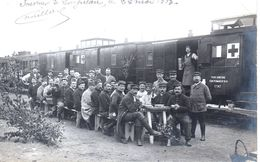 Somme  Longueau : Train Sanitaire En Mai 1915 - Longueau