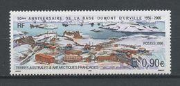 TAAF 2006 N° 441 ** Neuf MNH Superbe Cote 3,60 € Cinquantenaire De La Base Dumont D' Urville Vue - Franse Zuidelijke En Antarctische Gebieden (TAAF)