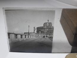 121 - Plaque De Verre - Italie -  Rome - Glasplaten