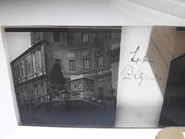 122 - Plaque De Verre - Italie -  Rome - La Pigna - Glasplaten