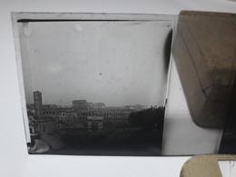 130 - Plaque De Verre - Italie -  Rome - Ariane Endormie - Glasplaten