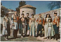 Montenegrin National Costume Postcard Unused B180320 - Europe