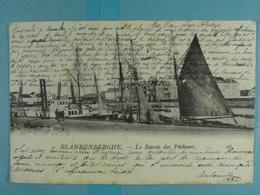 Blankenberghe Le Bassin Des Pêcheurs - Blankenberge