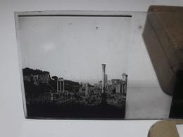 132 - Plaque De Verre - Italie -  Rome - Ariane Endormie - Glasplaten