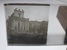 134 - Plaque De Verre - Italie -  Rome -  Raphael - Glasplaten