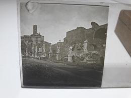 135 - Plaque De Verre - Italie -  Rome -  Raphael - Glasplaten