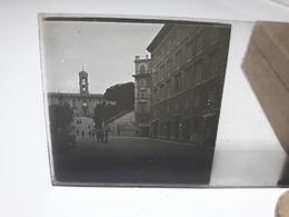 137 - Plaque De Verre - Italie -  Rome - Glasplaten