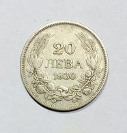 BULGARIA - King BORIS III - 20 LEVA (1930) - Bulgaria