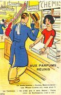 Aux Parfums Réunis - Pardon Mademoiselle Les Water-Closets S'il Vous Plaît ?.... - - Humor