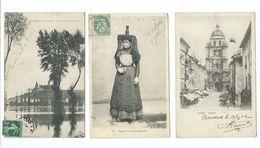01/ AIN...LOT De 24 CPA Du Département De L'AIN...8 Scans - Cartes Postales