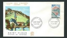 Enveloppe FDC 1er Jour  , Saint Flour , 15 /06/ 1963  LO40808 - FDC