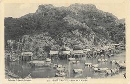 Tonkin, Baie D'Along - Port De La Cac-Ba - Collection V. Fauvel - Carte N° 334 Non Circulée - Viêt-Nam