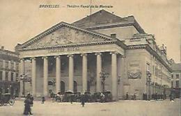 BRUXELLES : Théatre Royal De La Monnaie - Monuments, édifices