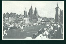 Tournai    Grand ' Place 1994    ( Les Gloires De La   De Balle Pelote En Hainaut   ) - Tournai