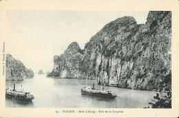 Tonkin, Baie D'Along - Baie De La Surprise - Collection V. Fauvel - Carte N° 59 Non Circulée - Viêt-Nam