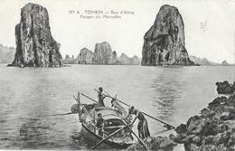 Tonkin, Baie D'Along - Parages Des Merveilles - Edition P. Dieulefils - Carte N° 285 A - Viêt-Nam