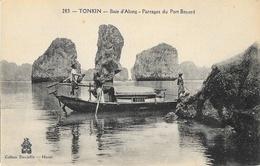 Tonkin, Baie D'Along - Parages Du Port Bayard - Edition P. Dieulefils - Carte N° 283 Non Circulée - Viêt-Nam