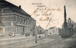 Santhoven - Statieplein - 1906 - Zandhoven