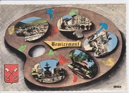 88 REMIREMONT Multivue En Forme De Palette De Peinture - Remiremont
