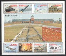 B926 ST.VINCENT&GRENADINES 50 ANNIVERSARY OF THE WORLD WAR II 1KB MNH - 2. Weltkrieg