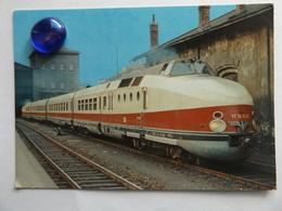 """Diesel.Triebwagen VT 18 , Deutsche Reichsbah, """"Vindobona"""", FRanz-Josef-Bahnhof Wien, 1967 - Vienne"""