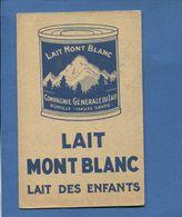 Lait Mont Blanc Compagnie Générale Du Lait Rumilly Haute-Savoiechromo Image Didactique Ours Polaire Ed Wartel - Sonstige