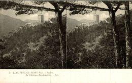 L AUTRICHE HONGRIE VIENNE  Baden Le Chateau Rauhenstein - Altri
