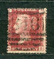 Great Britain Nr.16 Platte:138    (N-B)      O  Used      (786) - 1840-1901 (Victoria)