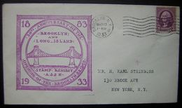 USA 1933 50th Anniversary Of The Opening Of The Brooklyn Bridge - Verenigde Staten