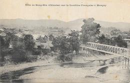 Tonkin - Ville Chinoise De Hong-Hin Sur La Frontière Française à Moncay - Carte Dos Simple, Non Circulée - Viêt-Nam