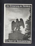 Dt. Reich PK Zur Erinnerung An Nürnberg 1937 Gelaufen - Geschichte