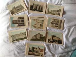 Lot De 126 Cartes Documentaire Sur Les Châteaux De France, Tous Différents Pautauberge - Postcards