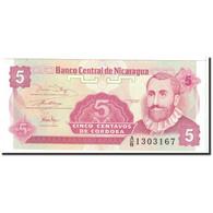 Billet, Nicaragua, 5 Centavos, 1991, Undated, KM:168a, SPL - Nicaragua