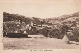 Ardèche : GILHOC: ( Vue Générale  Est  ) - Sonstige Gemeinden