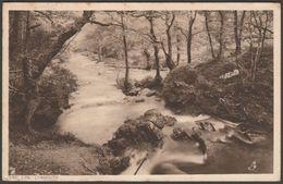 The Lyn, Lynmouth, Devon, 1929 - Tuck's Postcard - Lynmouth & Lynton
