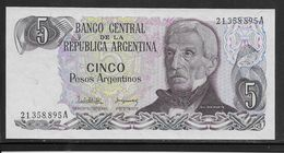 Argentine - 5 Pesos - Pick N° 312 - Neuf - Argentine