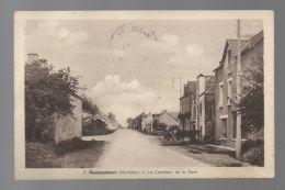 CP27112 - Questembert - Le Carrefour De La Gare - Ecrite - France