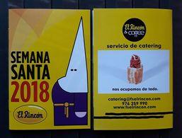ZARAGOZA 2018. SEMANA SANTA. GUÍA DE FIESTAS. NUEVO. - Religion & Esotérisme