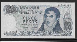 Argentine - 5 Pesos - Pick N° 294 - Neuf - Argentine