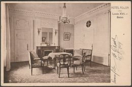 Louis XVI Salon, Hotel Adler, Mitte, Berlin, 1909 - Kullrich AK - Mitte