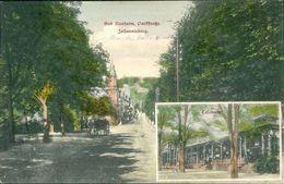 AK Bad Nauheim, Parkstraße, Johannisberg, Colonade, O 1910 (29744) - Bad Nauheim