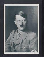 Dt. Reich AK Hitler Sonderstempel Nürnberg Gelaufen - Personaggi Storici