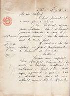 1899 - JUGEMENT TRIBUNAL DE TERMONDE ( Dendermonde ) - Leon Brangers ( Lokeren ) Résidant à Louisville - Enfants Mineurs - Historische Documenten