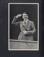 Dt. Reich AK Hitler Sonderstempel Der Führer In Wien (2) - Personaggi Storici