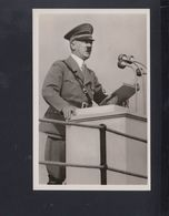 Dt. Reich AK Hitler Der Führer Spricht 1943 - Personaggi Storici