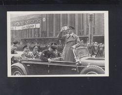 Dt. Reich AK Hitler In Leipzig 1940 - Personaggi Storici