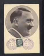 Dt. Reich AK Hitler 1939 Sonderstempel Graz Reichstagung Der Auslandsdeutschen - Deutschland