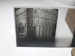 141 - Plaque De Verre -  Espagne - Lieu à Identifier - Glasplaten